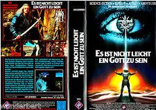 """VHS - """" Es ist nicht leicht ein GOTT zu sein """" (1989) - Werner Herzog - UFA"""