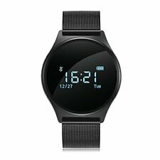 Smart Watch with Blood Pressure Heart Rate Monitor Pedometer Touch Screen