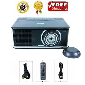 InFocus IN3916 DLP Projector WXGA Short Throw 2700 ANSI 1080p w/Remote bundle