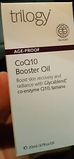 Trilogy CoQ10 Age Proof Booster oil USDA certified organic ! 20 ml FREE SHIP