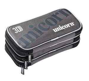 Unicorn 3D Large Darts Case – 3 Extra Large Zipped Compartments