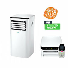 10000 BTU Portable Air Conditioner with Dehumidifier Remote and Install Kit