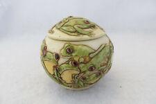 Hopscotch Harmony Ball Jardinia Frogs Small Cache Pot / Trinket Box