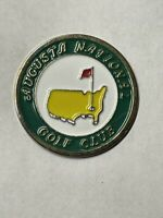 "Augusta National Golf Club Members 1"" Flat Coin Style Golf Marker - A Beauty!"