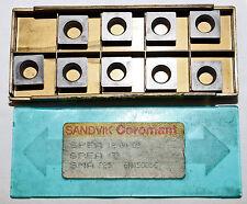 9 PLAQUITAS INTERCAMBIABLES SANDVIK Spea 12 04 03 Spea 432 SMA P25