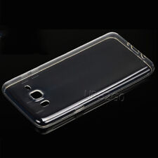 For Samsung Galaxy J7 SM-J700T CellPhone Transparent Soft Protective Cover Case