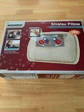 Shiatsu Massage Pillow With Heat Homedics Therapist Select Invigorating Massage