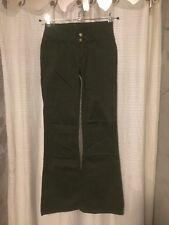 Monkee Genes Organic Brushed Sateen Hip Hugger Flared Jeans Flares Size 30 Long