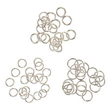 60Pc Sterling Silver 4mm 5mm 6mm Split Ring Jump Rings (Link Jewlery Charms)
