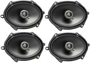 "4) MB QUART FKB168 Formula Series 6x8"" 2-Way 200W Car Stereo Coaxial Speakers"
