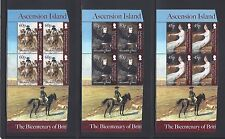 ASCENSION ISLANDS 2013 SG 1168/71 MNH Blocks of 4 Cat £36