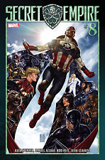 Marvel Comics Secret Empire #8 (of 10) Regular Cover Bagged & Boarded INSTOCK