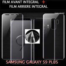 Film protection total intégral pour Samsung Galaxy S9  PLUS + 1 film arrière