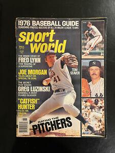 1974 Baseball Illustrated Magazine - Ryan, Aaron, Rose, Seaver, Jackson