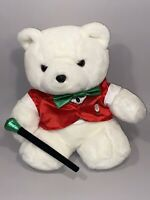 Dayton Hudson Santa Bear 1988 Plush Entertainer Teddy Satin Christmas Polar Club