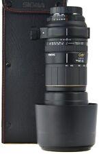 NIKON  170-500mm Sigma APO 5-6.3 D + Hood + Case