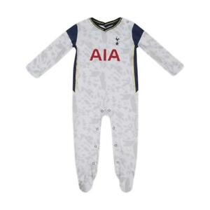 Tottenham Hotspur FC Baby Grow Sleepsuit 2020/21 Spurs Romper, 100% Cotton BNWT