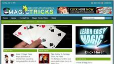 Magic Tricks Complete Website Make Money Installation + Free Hosting