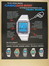 1997 Casio Memory Protect 200 Databank 300 150 Telememo 30 Watches vintage Ad