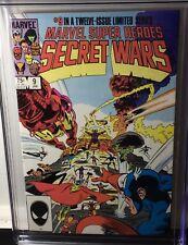 MARVEL SUPER HEROES SECRET WARS #9 1985 CGC 9.8 HULK/SPIDER MAN/T.V. SHOW/MOVIE