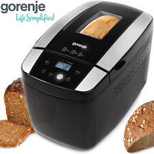 Brot Back Automat Ofen Maschine Timer Warmhaltefunktion Brotbäcker 800 W Gorenje