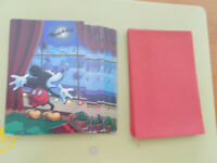 Vintage Mickey Mouse Unused Christmas Cards Lot/15 Walt Disney  For Pet Rescue
