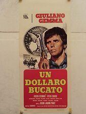 UN DOLLARO BUCATO western regia Kelvin Jakson Paget locandina orig. 1965