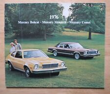 MERCURY orig 1976 USA Mkt sales brochure - Bobcat Monarch Comet