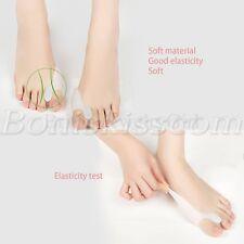 2pcs Silicone Corrector Toe Protector Straightener Spreader Alignment Separator