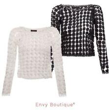 Crochet Long Sleeve Casual Dresses for Women