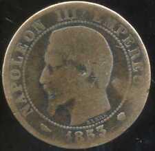 5 centimes NAPOLEON III 1853 MA  ( 2 )