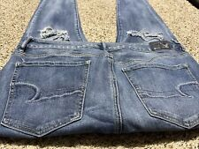 AE AMERICAN EAGLE OUTFITTERS HI RISE JEGGING SUPER STRETCH WOMENS JEANS SIZE 12