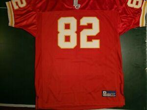 Kansas City Chiefs Signed Dwayne Bowe # 82 NFL Reebok Jersey Size 54