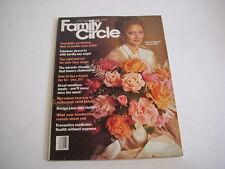 Family Circle Magazine, April, 1975, Fantasy Flowers to Make, Recipes, Hairdos!