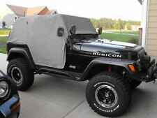1992-2006 Jeep Wrangler Cab Trail Cabin Cover with Door Flap Gray