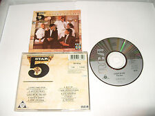 FIVESTAR - LUXURY OF LIFE -10 TRACKS-1985  CD MADE IN JAPAN cd is exc cond