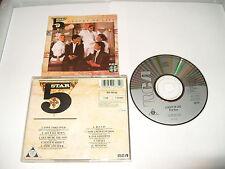 FIVESTAR - LUXURY OF LIFE -10 TRACKS-1985 -CD MADE IN JAPAN - FREE FASTPOST