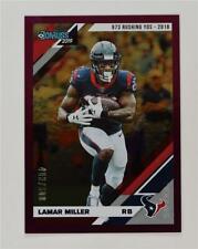 2019 Donruss Stat line #110 Lamar Miller /500