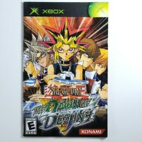 2004 Yu-Gi-Oh! The Dawn of Destiny Xbox Manual Only