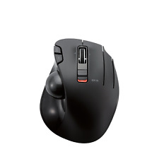 ELECOM M-XT3DRBK Wireless Trackball Mouse, 6-Button with Smooth Tracking Video