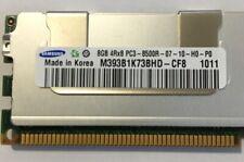 Samsung 8GB PC3-8500R 4Rx8 1066MHz DDR3 ECC Server RAM - M393B1K73BHD-CF8