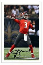 JAMIES WINSTON TAMPA BAY BUCCANEERS SIGNED PHOTO AUTOGRAPH PRINT NFL FOOTBALL