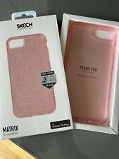 Iphone 8 Plus Pink Glitter Case Skech Matrix Iphone 7 / 8 Plus Case