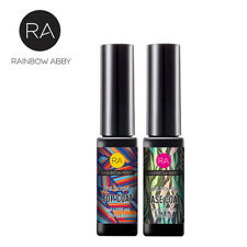 RAINBOW ABBY 8ml Wipe Top Coat + 8ml Base Coat Nagellack UV LED Gellack Nagel DE