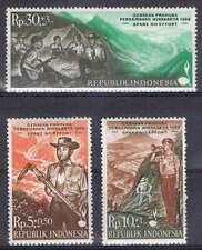 Indonesia postfris 1968 MNH 607-609 - Padvinderij / Scouting