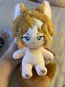 Genshin Impact Gorou Wulang Plush Dress up Doll Stuffed Toy Gift Anime Game 20cm