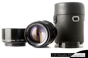 Pentax Super Takumar 105mm f2.8 Lens M42 Mount for Film or adapt to Digital