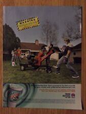 2005 Print Ad TACO BELL Fast Food Restaurant ~ Making A Mountain Dew BAJA BLAST
