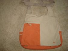 NEW DIADORA CROSS BODY BAG WITH LOADS OF POCKETS TERRACOTTA AND BEIGE