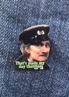 Blakey On The Buses Stephen Lewis Enamel Pin Badge Top Quality